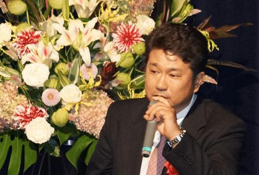 株式会社銀イオン繊維 代表取締役 宗像 誉人 第91回受賞者