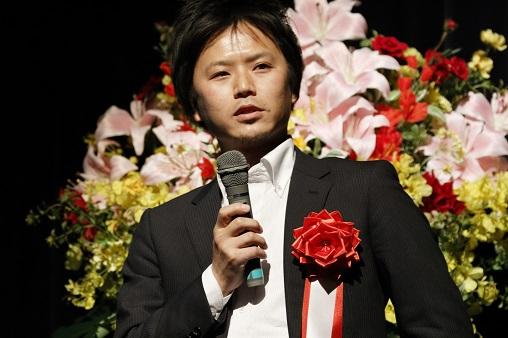株式会社Secual 代表取締役 青柳 和弘 第100回受賞者