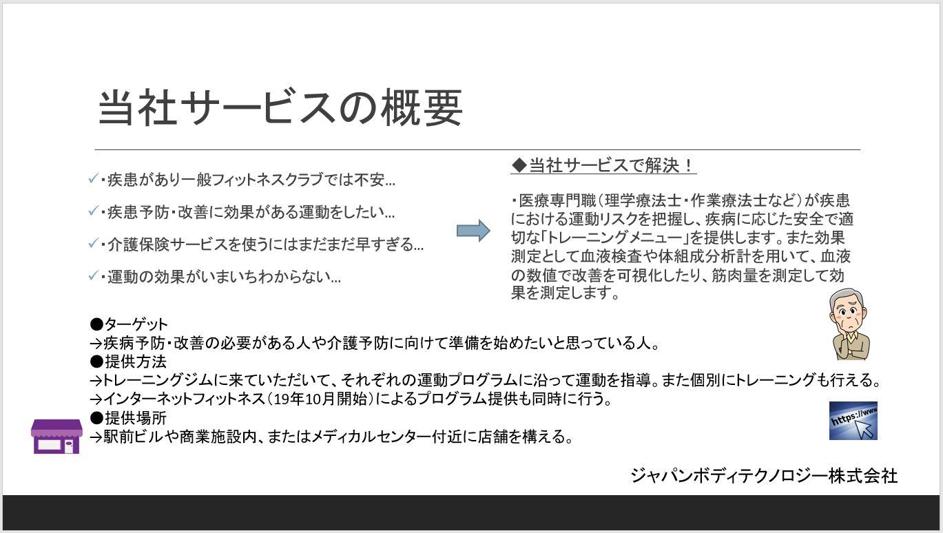 ジャパンボディテクノロジー株式会社 代表取締役社長  山村 純登|第120回受賞者