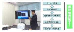 (株)匠技術研究所 出席管理方法 ネットワーク接続サービス 富士通