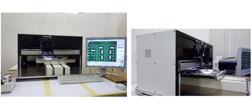 (株)光和電機 プリント基板拡大視目装置 電子部品の装置メーカー